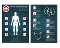 Brochure health flyer template