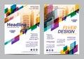 Brochure Layout design template. Annual Report Flyer Leaflet cover Presentation Modern background. illustration vector
