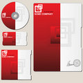 Brochure template Royalty Free Stock Photography