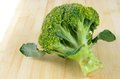 Brocolli green closeup on table Royalty Free Stock Image