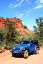 Broken Arrow trail in Sedona Stock Photography