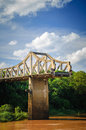 Broken bridge Royalty Free Stock Photography