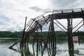 Broken Bridge Royalty Free Stock Photo