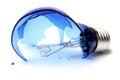 Broken bulb Royalty Free Stock Photo