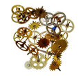 Broken clockwork mechanism Royalty Free Stock Photo