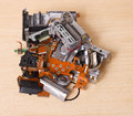 Broken compact digital camera spare parts