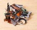 Broken compact digital camera spare parts