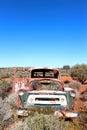 Broken down truck in West Australian outback Royalty Free Stock Photo