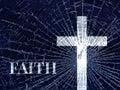 Broken Faith Royalty Free Stock Photo