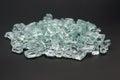 Broken glass blocks Royalty Free Stock Photo