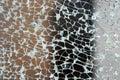 Broken glass textur Royaltyfri Bild