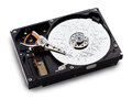 Broken hdd data loss Royalty Free Stock Photo