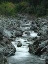 Broken kettle creek on california oregon border Royalty Free Stock Photography