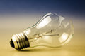 Broken light bulb as symbol of thoughtless or problem in thinking concept Stock Photos