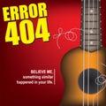 Broken string on ukulele Royalty Free Stock Photo