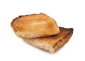 Broken toast bread Royalty Free Stock Photo