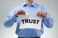 Broken trust Royalty Free Stock Photo
