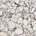Broken whitewash pieces Royalty Free Stock Photo