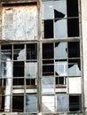 Broken window Stock Images