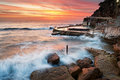Bronte rockpool Royalty Free Stock Photo