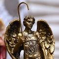 Bronze Angel Royalty Free Stock Photo