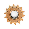 Bronze colored gear Royalty Free Stock Photo