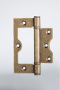Bronze hinge Royalty Free Stock Photography