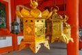 Bronze Lanterns At Kasuga Tais...