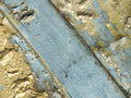 Bronze surface with patina to be used as background Royalty Free Stock Photo