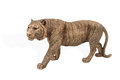 Bronze tiger figurine Royalty Free Stock Photo