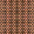 Bronze weaving work Royalty Free Stock Photo