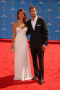 Brooke burke david charvet and at the nd annual primetime emmy awards nokia theater los angeles ca Stock Photos