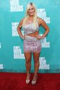 Brooke Hogan at the 2012 MTV Movie Awards Arrivals, Gibson Amphitheater, Universal City, CA 06-03-12 Royalty Free Stock Photography