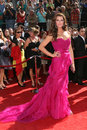 Brooke shields arriving at the primetime emmys at the nokia theater in los angeles ca on september Stock Photo