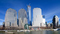 Brookfield place formerly the world financial center new york city new york april pictured in this panoramic view is known as in Royalty Free Stock Photo