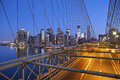 Brooklyn Bridge. Royalty Free Stock Image