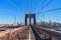 Brooklyn Bridge New York NYC Royalty Free Stock Photo