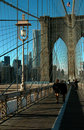 Brooklyn Bridge New York City. Royalty Free Stock Images