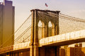 Brooklyn bridge new york usa Stock Photo