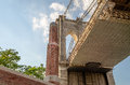Brooklyn bridge new york usa Royalty Free Stock Images