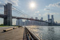 Brooklyn bridge new york usa Royalty Free Stock Photography