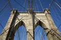Brooklyn Bridge, New York, USA Royalty Free Stock Photo
