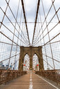 Brooklyn Bridge, nobody, New York City USA