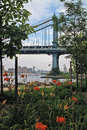 Brooklyn Bridge Park New York Stock Photos