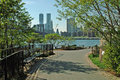 Brooklyn Bridge Park Waterfront New York City Royalty Free Stock Photography