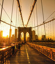 Royalty Free Stock Photography Brooklyn Bridge