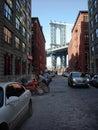 Brooklyn Dumbo New York Stock Photo