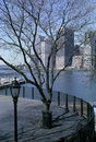 Brooklyn Heights New York Promenade Stock Images