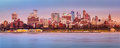 Brooklyn skyline panorama Royalty Free Stock Photo