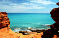 Broome gantheaume point wa Стоковое фото RF